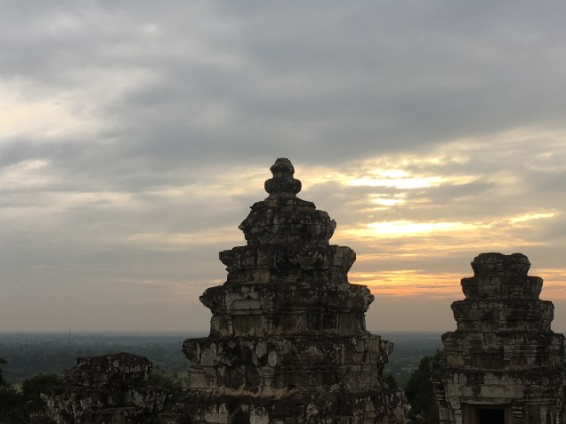 Sunset from Phnom Bakheng