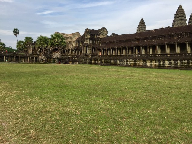 The grounds of Angkor Wat