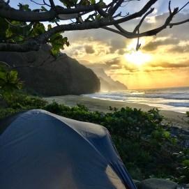 Kauai, Hawaii Camping