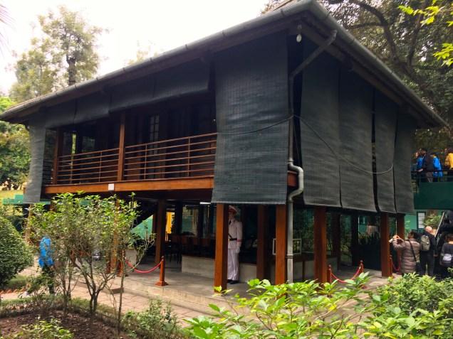 The modest stilt house