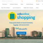 Cebu Pacific's Online Shopping Portal via Takatack.com Now Live