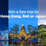 PayMaya: Win a Trip to Hong Kong, Bali, or Japan