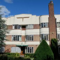 Modernist wonder of Hermitage Court, South Woodford