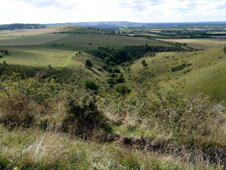 Incombe Hole the Ridgeway