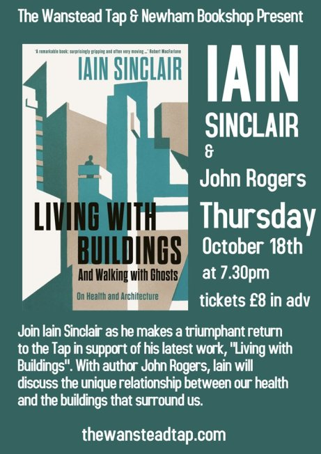Iain Sinclair Living with Buildings
