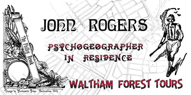John Rogers walks Leytonstone