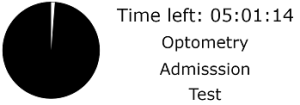 Time Left For Optometry Admission Test