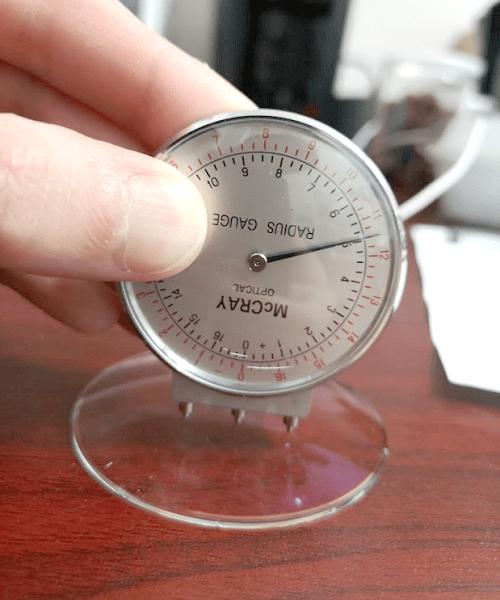 Lens Clock Measuring Base Curve of Semi Finished Lens