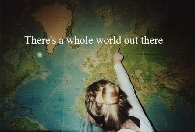theres a whole world