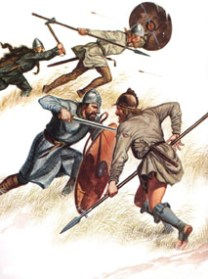 Danes and Saxons, 9th to 11th centuriesby G.A.Embleton