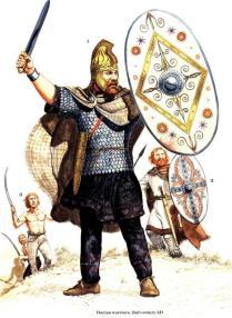 Guerreros dacios, siglo II d.C.
