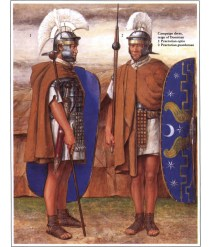 richard hook showing roman warriors of the Praetorian Guard