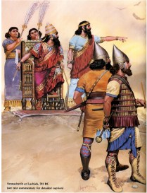 assyrian king Sennacherib during the wars against Judah in the 8th century AD.