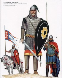 Christian warriors of the Byzantine Empire