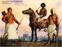 egyptian warriors