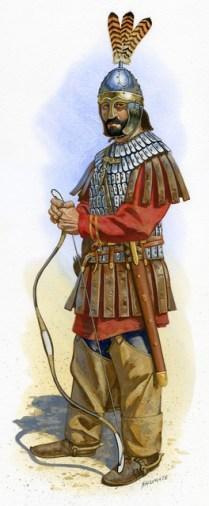 Horse Archer VI century AD Roman
