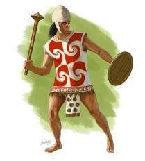 Inca Warrior with club