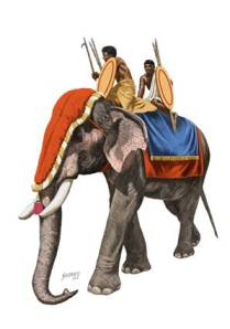 Indian War Elephant 4th Cen BC