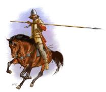 Sarmatian Warrior, II century AD.