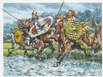 Celtic cavalry's charge
