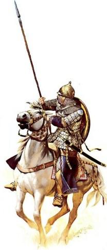 muslim persian cavalryman of the Seljuk Empire , during the Third Crusade