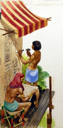 Egyptian Picture Writing