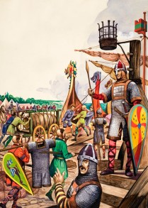Saxon Warriors and Norman Invaders