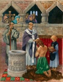 St. Augustine Baptizing King Ethelbert