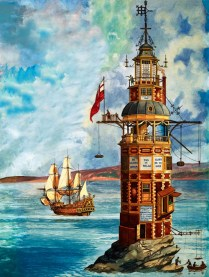 The First Eddystone Lighthouse