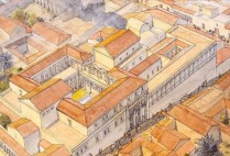 afrique-lybie-ptolemais-palais-des-colonnes