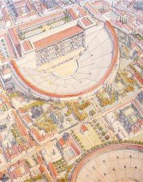 afrique-tunisie-carthage-romaine-theatre