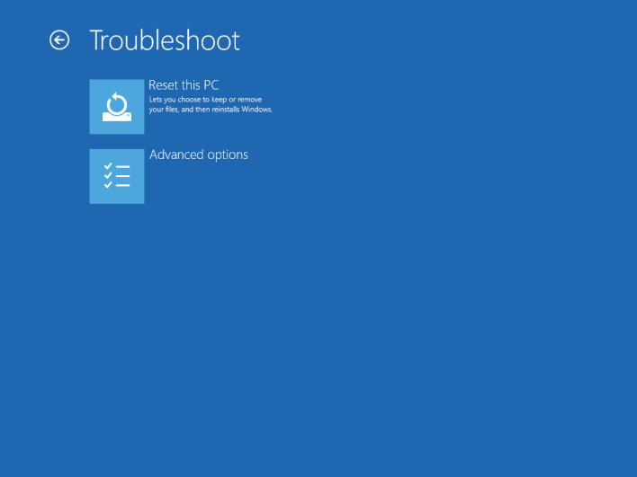 Bad system config info error windows 10