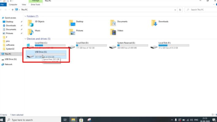 How to use pen drive as RAM in windows PC