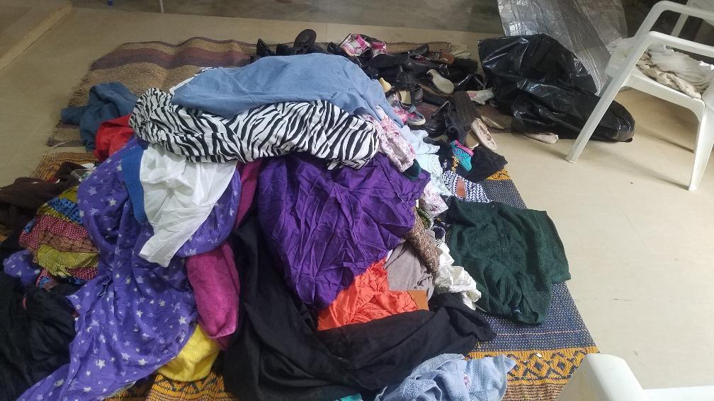 Free Cloth Mart at Sharing and Caring Season 3