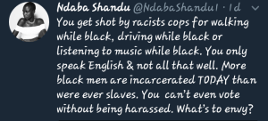 social injustices: racism
