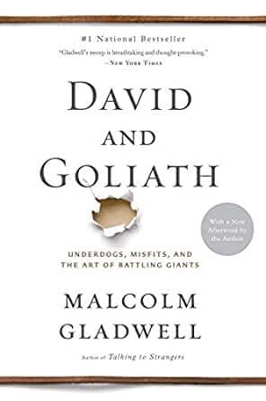 30 books to read during quarantine - David & Goliath