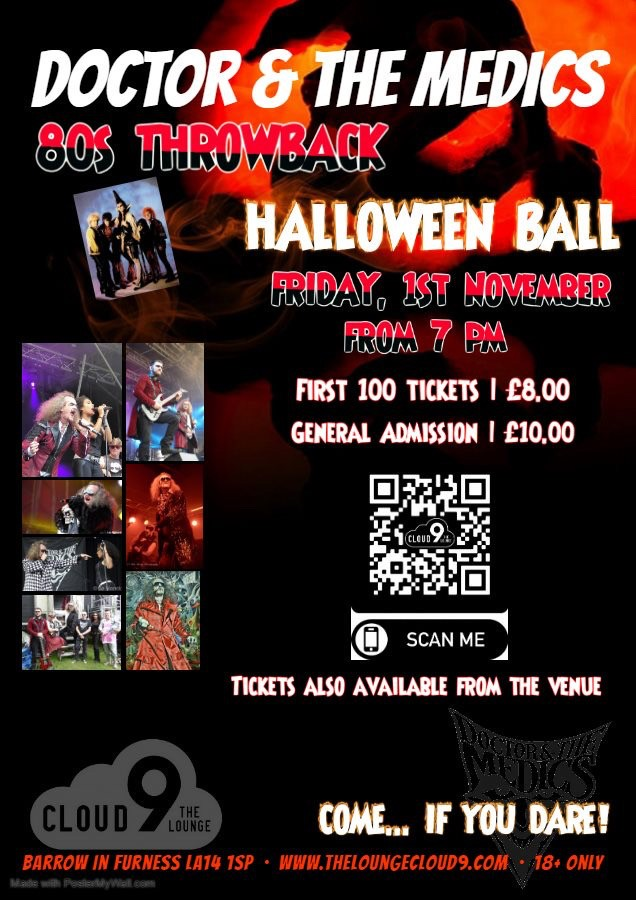DR & The Medics - 80s Throwback Halloween Party