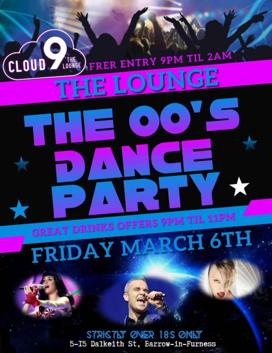 The 00's Dance Party with DJ James