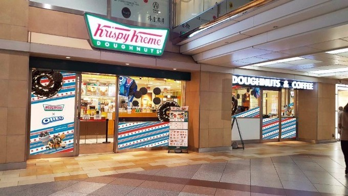 川崎クリスピークリームドーナツ