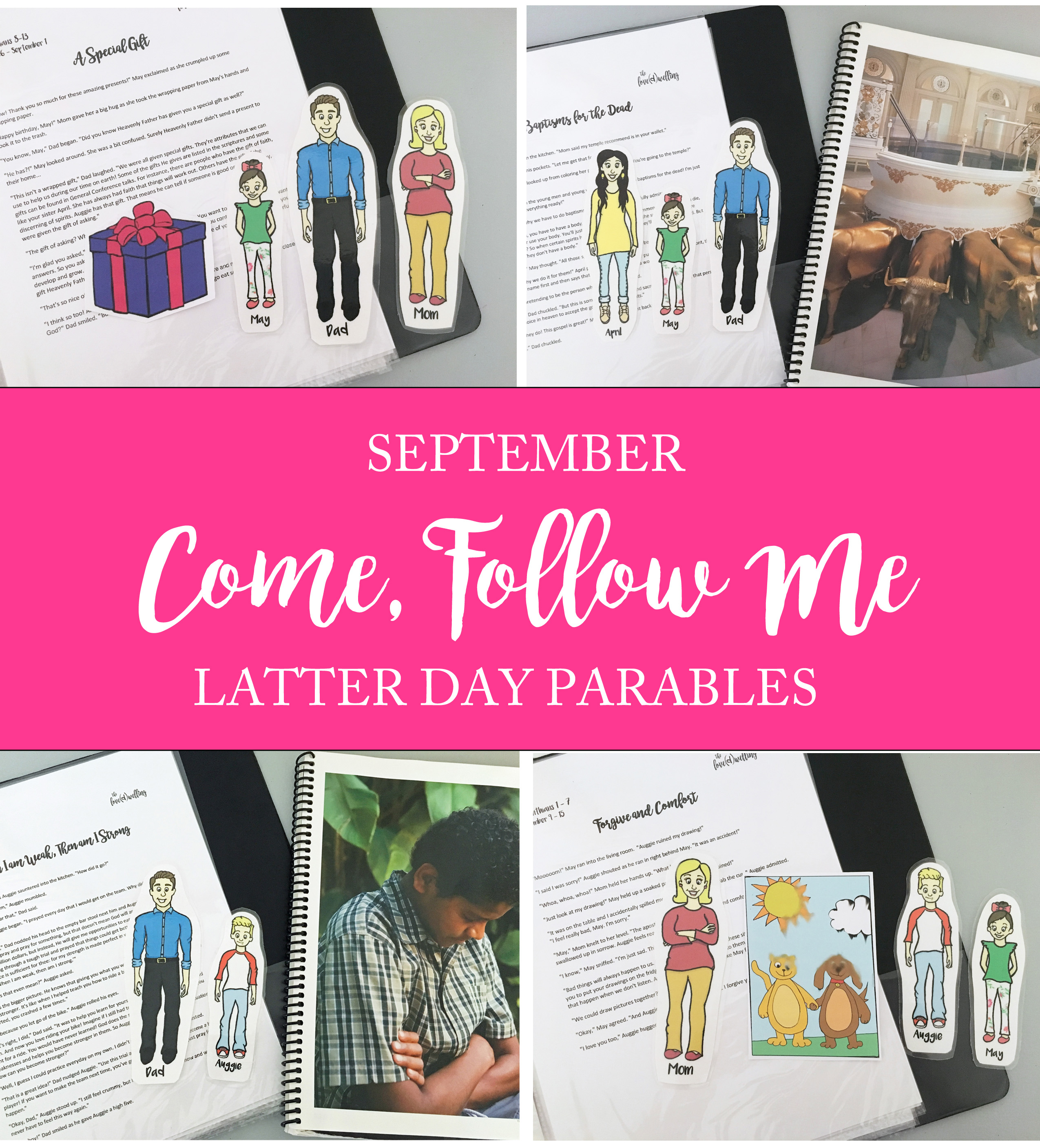 Come, Follow Me FHE: September 2019 - the love(d)welling