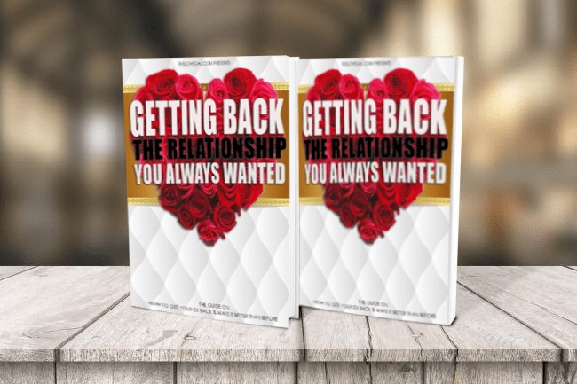 how to get your ex back book