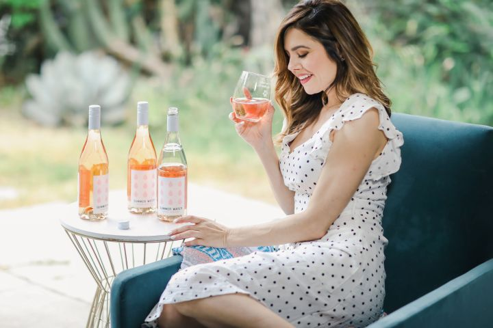 Stop & Smell the Rosé w/ Summer Water