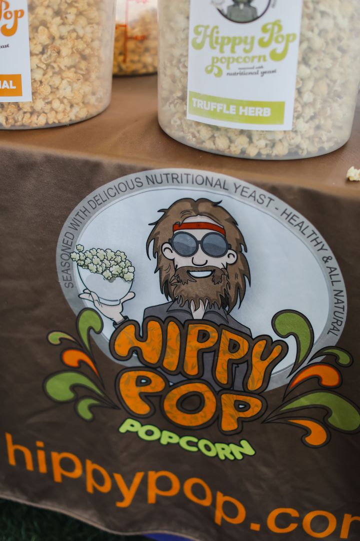 Hippy Pop Popcorn x Ojai Wine Festival