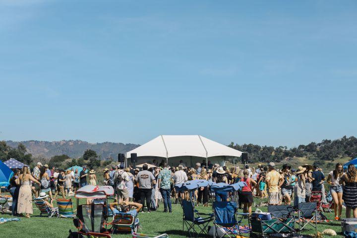 Area 51 Live Music at the Ojai Wine Festival