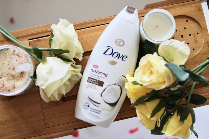 Dove Soap on Kristin Reveles blog page