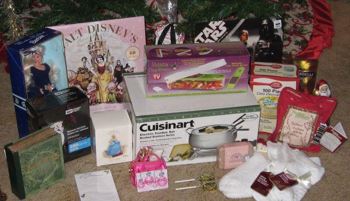 My 2007 Christmas Haul