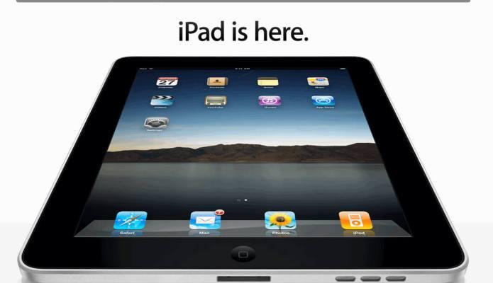 iPad is here