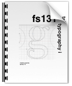 fs131 process book for typography i