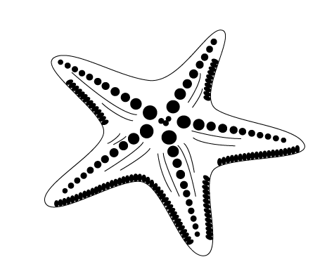 sea creature logo #starfish