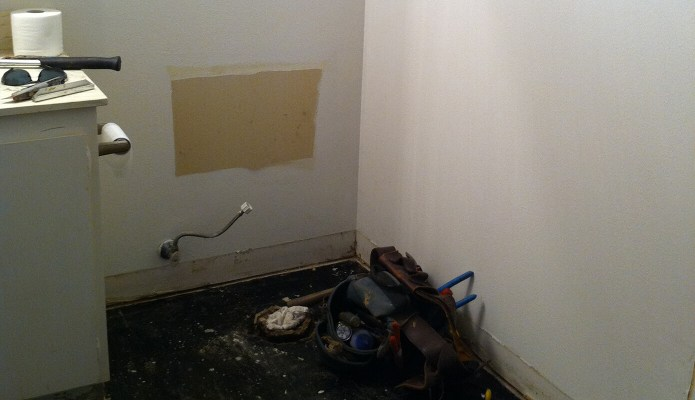 Bathroom Demo Day 1